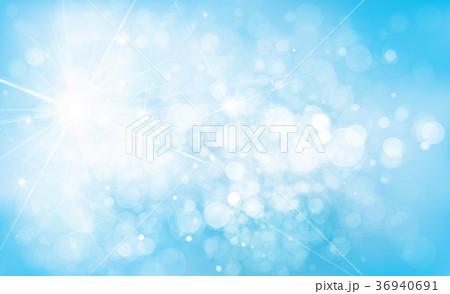 vector blue lights background のイラスト素材 36940691 pixta