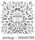 花 コレクション ビンテージのイラスト 36940789