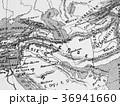 古地図 中東地域 36941660