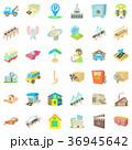 都市 場所 置き場のイラスト 36945642