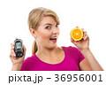 女性 メーター 計器の写真 36956001