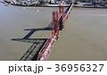 昇開橋 空撮 筑後川の写真 36956327