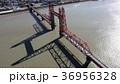 昇開橋 空撮 筑後川の写真 36956328