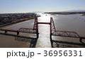 昇開橋 空撮 筑後川の写真 36956331