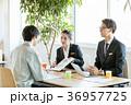 打合せ ビジネス 作業員の写真 36957725