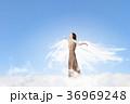 天使 女 女の人の写真 36969248