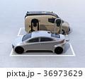 電気自動車 充電 充電スタンドのイラスト 36973629