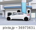 電気自動車 充電 EVのイラスト 36973631