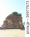 稲佐の浜 弁天島 晴れの写真 36977673