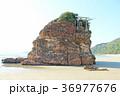 稲佐の浜 弁天島 晴れの写真 36977676