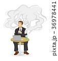 喫煙リスク ビジネスマン 36978441