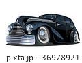 車 自動車 リムジンのイラスト 36978921