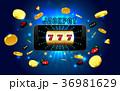 モバイル 賞金 ジャックポットのイラスト 36981629