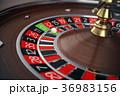 カジノ カジノの ルーレットのイラスト 36983156