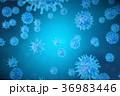3Dイラスト バクテリア バイキンのイラスト 36983446