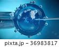 3d illustration artificial insemination 36983817