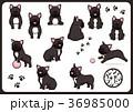 フレンチブルドッグ 犬 戌年のイラスト 36985000