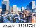 東京駅 丸の内 駅前広場の写真 36985724