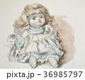 女の子の人形 36985797
