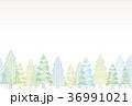 クリスマスツリー 背景 36991021