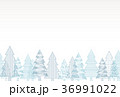 クリスマスツリー 背景 36991022