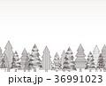 クリスマスツリー 背景 36991023