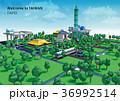 景色 風景 地形のイラスト 36992514