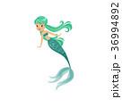 マーメイド マーメード 人魚のイラスト 36994892