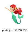 マーメイド マーメード 人魚のイラスト 36994893