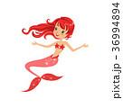 マーメイド マーメード 人魚のイラスト 36994894