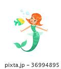 マーメイド マーメード 人魚のイラスト 36994895