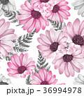 フローラル 花 柄のイラスト 36994978