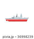 船 船舶 レーダーのイラスト 36998239