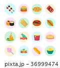 ファストフード 食 料理のイラスト 36999474