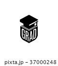 シンボルマーク ロゴ 卒業のイラスト 37000248