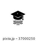 シンボルマーク ロゴ 卒業のイラスト 37000250