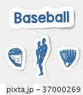 ベースボール 白球 野球のイラスト 37000269