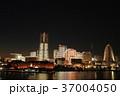 大桟橋からの全館点灯 37004050