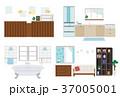 インテリア イラスト セット 37005001