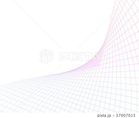 Illustration with a dot grid on a white background 37007015