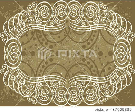 Decorative frame with pattern 37009889