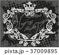 フレーム 黒色 黒のイラスト 37009895