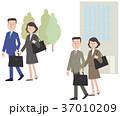 ビジネスマン ビジネスウーマン 人物のイラスト 37010209