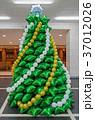 風船 クリスマス 気球の写真 37012026