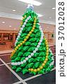 風船 クリスマス 気球の写真 37012028