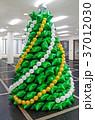 風船 クリスマス 気球の写真 37012030
