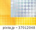 フレーム 模様 テクスチャーのイラスト 37012048