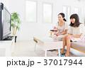 親子 テレビ リモコンの写真 37017944