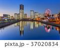 横浜 みなとみらい 横浜港の写真 37020834
