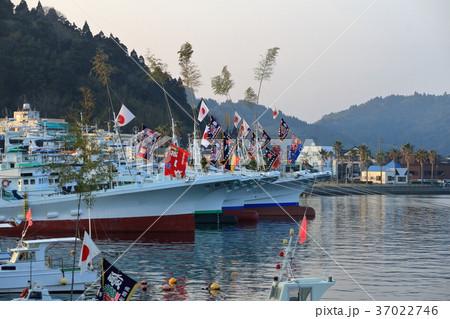 漁船の正月飾り 37022746